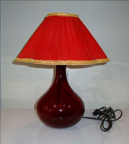 Antique table lamp baseglass usage application home decor
