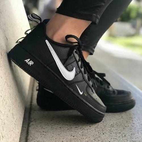 Black Nike Airforce 1 Lv8 Utility, Rs