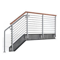 Multi Line Stair Case Railing