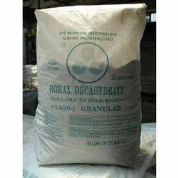 Borax Decahydrate Powder, Grade: Class 1