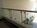 Ss Balcony Glass Railing