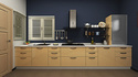 Commercial Straight Modular Kitchen