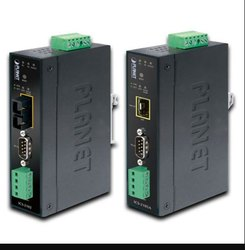 Industrial RS-232/ RS-422/ RS-485 Over Ethernet Media Converter