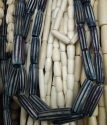 Custom Made Hand Carved Bone Beads