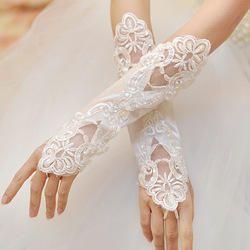 Women Christian wedding white  Gown / Veil /Gloves