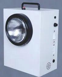 White Emergency Exit Beam Light Single - LED/BL