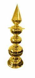 Nutristar Pure Brass Shikaram / Brass Kalash / Brass Minaar, For Temple