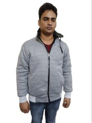 Full Sleeve Reversible Jackets Mens Lather Jackets