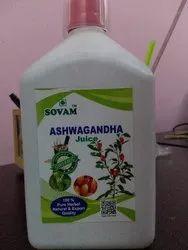 Sovam Natural Organic Ashwagandha Leaf Juice, Packaging Type: Bottle