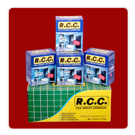 Tile Fixing & Grouting Construction Chemicals - RCC Tile Grout