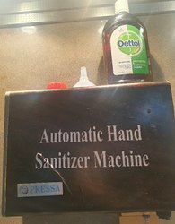Automatic Hand Sanitizers Machine