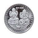 Ganesh Lakshmi Silver Coin