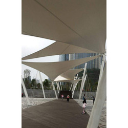 Walkway Tensile Structure