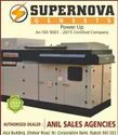 Supernova Water Cooling Silent Diesel Generator 10kva, For Commercial