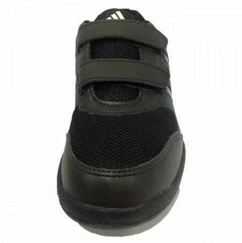 adidas black velcro shoes