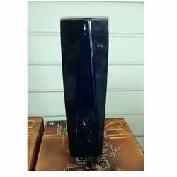 Blue Ceramic Flower Vase