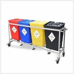 Bio Medical Waste Trolley 60L