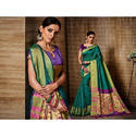 Ladies Trendy Saree, 6.3 M With Blouse Piece