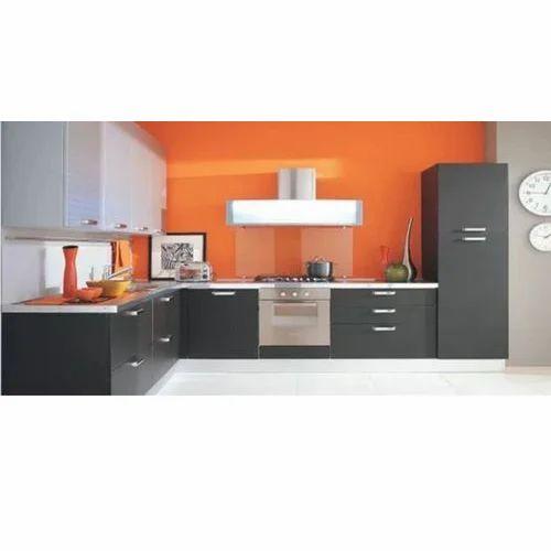 Designer L Shaped Modular Kitchen At Rs 2500 Square Feet: Modular Kitchen Manufacturer From New Delhi
