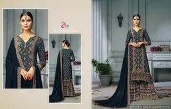 Beautiful  Sharara Suit Angroop-Reoza