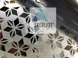 Stripe Designer Stainless Steel Etching Sheets