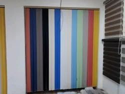 Fordable Vertical Blinds