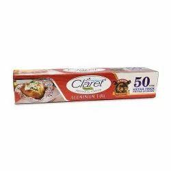 Claret Bahubali 50 Meter Food Grade Aluminium Foil Roll (Pack Of 1)