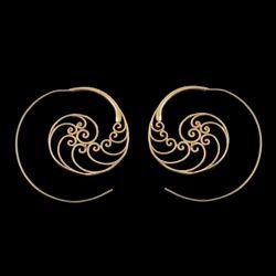 Vintage Spiral Mandala Style Trendy Women Earring