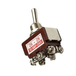 10 Amp Heavy Duty DPDT Toggle Switch