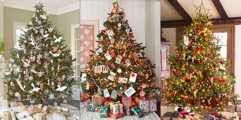 Colorful Christmas Tree Images.Christmas Trees