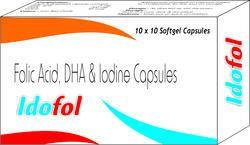 Folic Acid Dha And Iodine Capsules