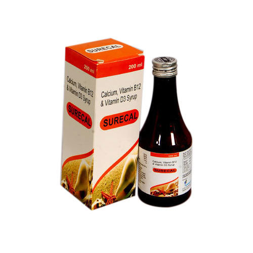 Calcium, Vitamin B12 And Vitamin D3 Syrup, 200ml