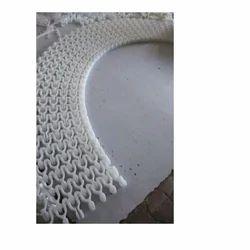 90 Degree Curve Plastic Modular Belt
