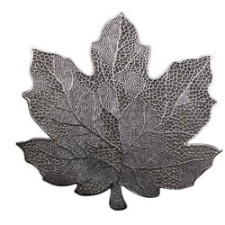 Leaf Shape PVC Side Table Mat