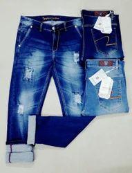 Mens Designer Stretchable Jeans