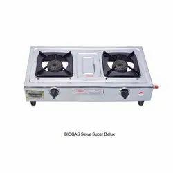 Biogas Stove Double Burner Super Deluxe
