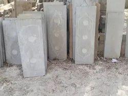grey Rectangular Nimbahera Stone Parandi, For Indoor