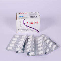 Aceclofenac & Paracetamol Tablet