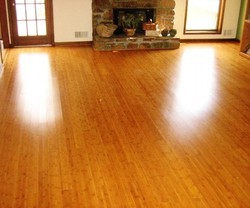 Multi Color For , Indoor Laminated Wooden Flooring Service