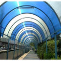 Polycarbonate Walkway Shed