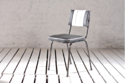 Commune Retro Dining Chair With Padded Milti Colour Seat