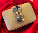 Traditional Stylish Box Clutch