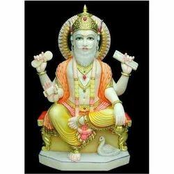 Marble Viskarma Statue