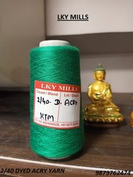 2/40 Dyed Acrylic Yarn 40/2