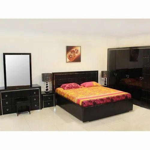 Wooden Brown Fancy Bedroom Furniture Sets Rs 80000 Set Seven Plus Furniture Id 22205852955