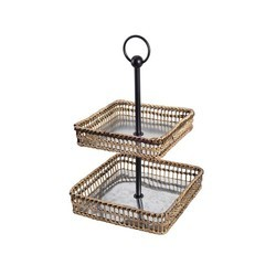 Metal Stand Cane Tray
