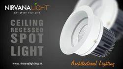 Roof Ceiling LED Light, Shape: Round