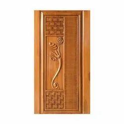 Wooden 3D Curving  Designer Doors