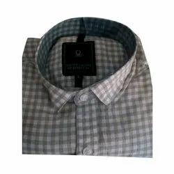Cotton Checks Men Casual Shirt