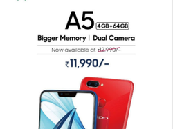 Oppo A5 4 GB Plus 64 GB Mobile Phone